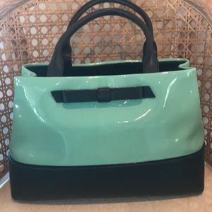 KATE SPADE Satchel With Bow - used twice!!